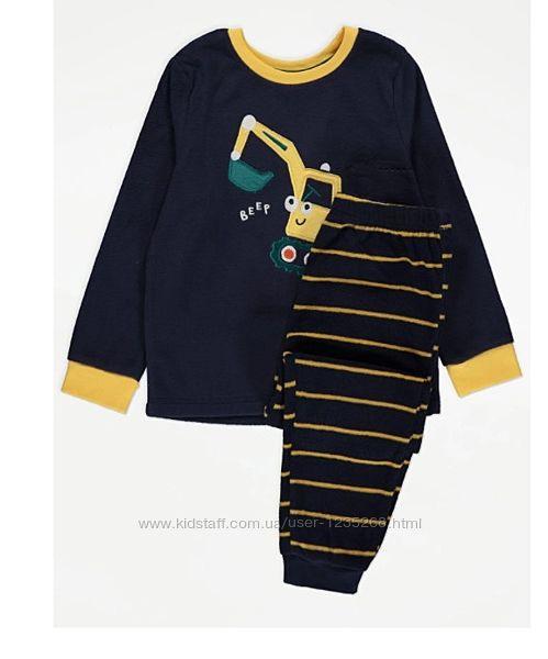 Флисовая пижама для мальчика рр.92-128 George Джордж