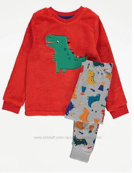 Теплая пижама для мальчика рр.98-128 George Джордж