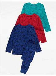 Пижама для мальчика рр.92-134 Машинки George Джордж