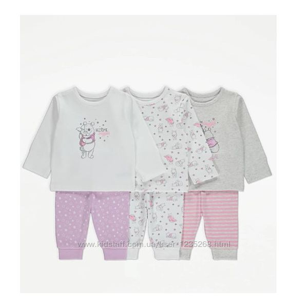 Пижама для девочки рр.86-98 George Джордж