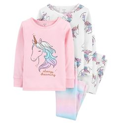 Пижама для девочки рр.92-110 Единорог Carter&acutes Картерс