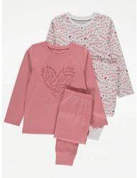 Пижама для девочки рр.134-140 George Джордж