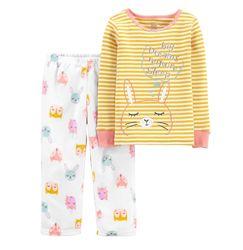 Пижама для девочки рр.92-110 Зайчик Carter&acutes Картерс