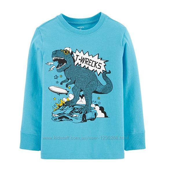 Реглан для мальчика рр.2Т Динозавр Carters Картерс