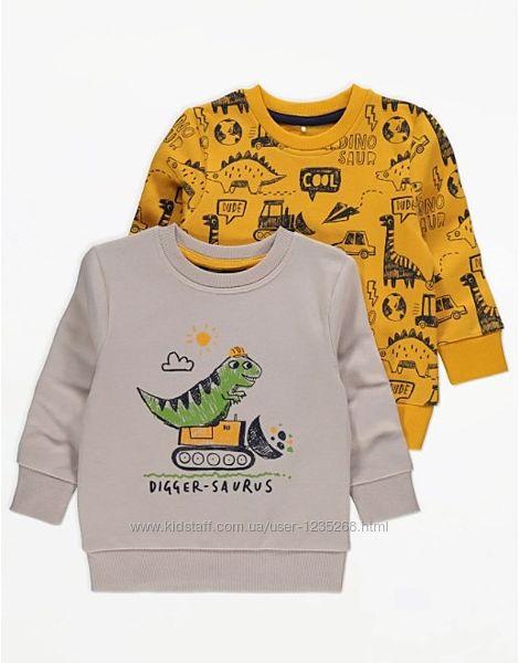Батник мальчику рр. 92-98 Динозавр George Джордж