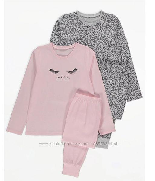 Пижама для девочки рр.128-152 George Джордж