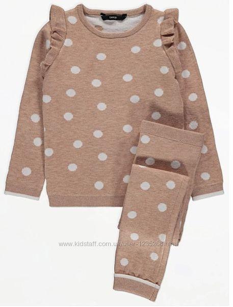 Теплый костюм для девочки р.98-110 George Джордж
