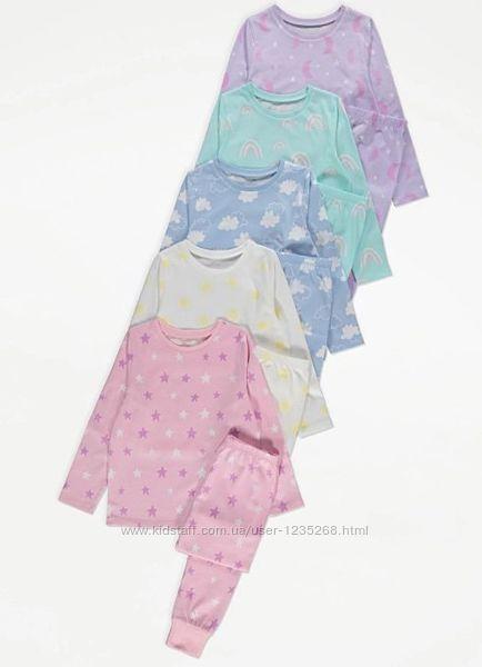 Пижама для девочки рр.98-104, 122-128 George Джордж