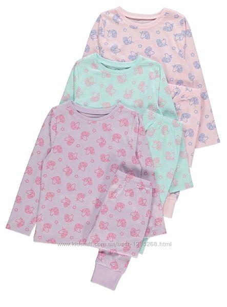 Пижама для девочки рр.158-164 Единорог George Джордж
