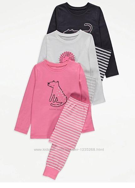 Пижама для девочки рр.122-128 George Джордж