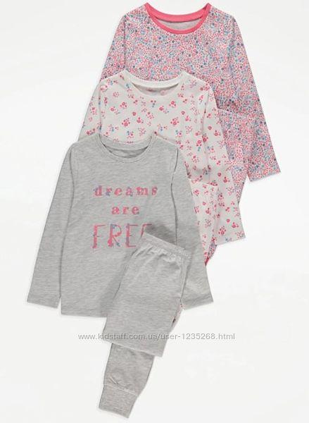 Пижама для девочки рр.128-134 George Джордж