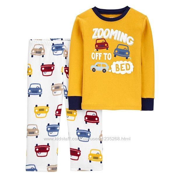 Пижама для мальчика рр.86-104 Машины Carter&acutes Картерс
