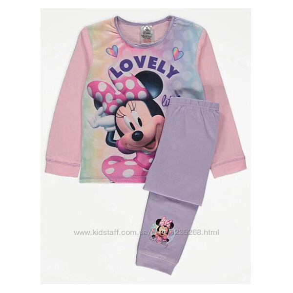 Пижама для девочки Минни Маус рр.92-104 Disney Дисней