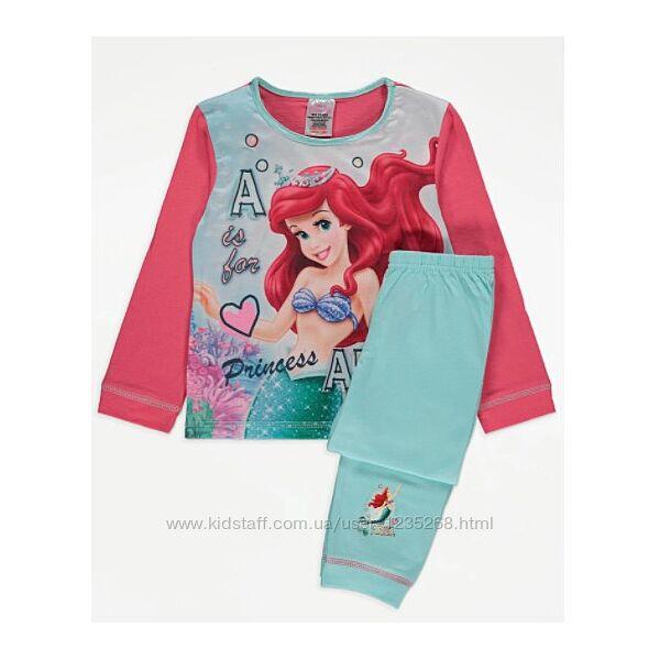 Пижама для девочки Русалочка рр.98-110 Disney Дисней