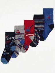 Набор носков для мальчика р.19-36 George Джордж