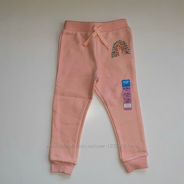 Теплые штаны для девочки рр.80-92 Primark Примарк