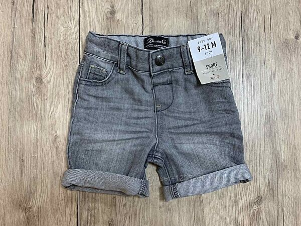 Джинсовые шорты для мальчика рр.74-98 Primark