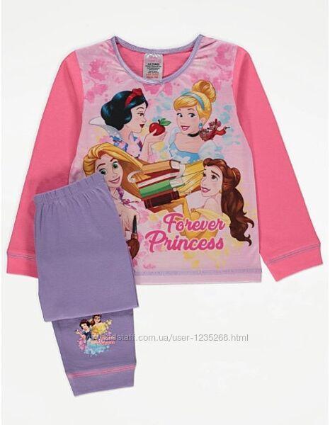 Пижама для девочки Принцесса рр.98-110 Disney Дисней