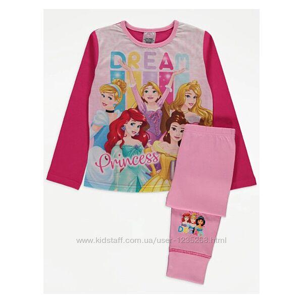 Пижама для девочки Принцесса рр.134-140 Disney Дисней