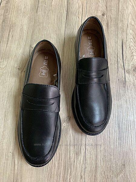 Кожаные туфли для мальчика рр.31-37 Tex Испания