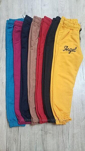 Спортивные штаны девочке рр.104-116 Beebaby