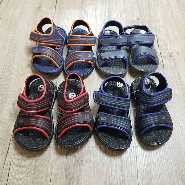 Резиновые сандали рр.24-29