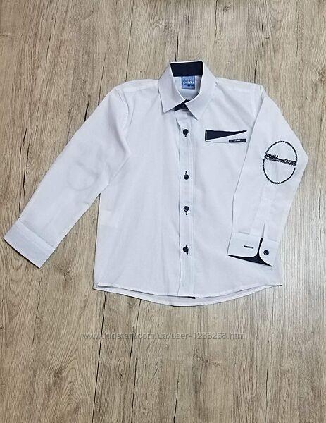 Рубашка для мальчика р.116-140 Beebaby