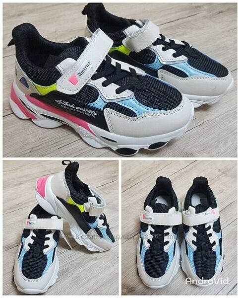 Кроссовки для девочки рр.31-36