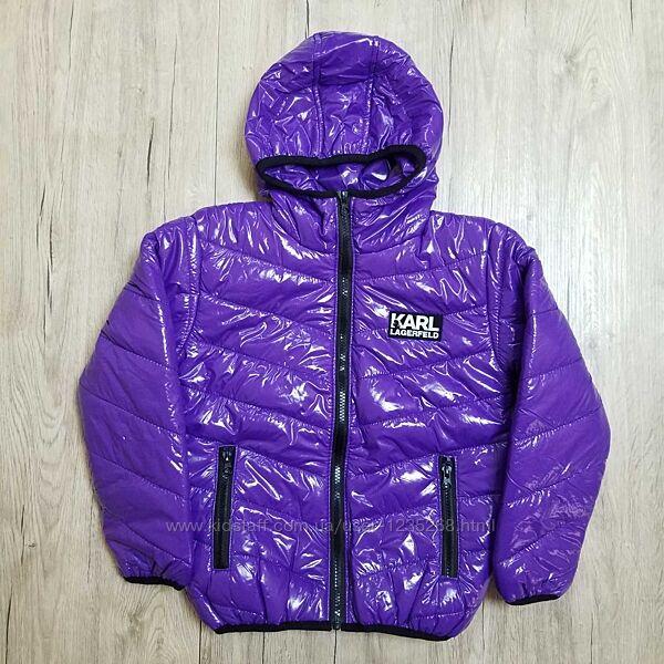 Демисезонная куртка для девочки рр.122-140
