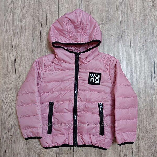 Демисезонная куртка для девочки рр.92-116