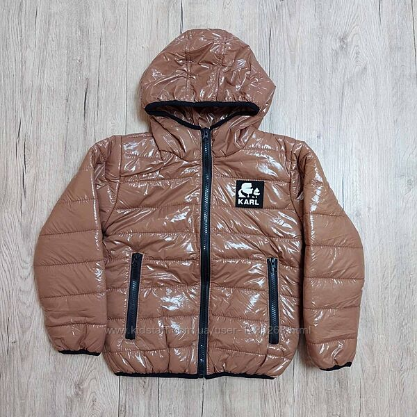 Демисезонная куртка для девочки рр.116-134