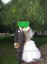 Свадебный костюм или на выпускной Stiftung 46 р-ррубашкагалстук