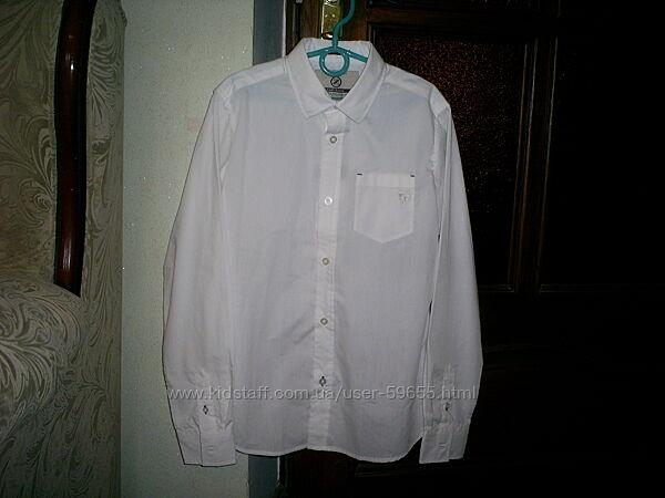 Новая рубашка с длинным рукавом PlazaItalia на рост 158-164 см.