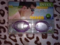 Очки для плавания детские Intex, возраст 8 плюс