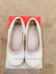 Белые балетки Garvalin по стельке 19, 5 см