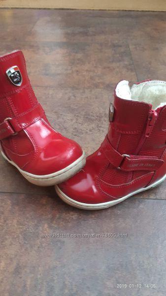 распродажа, ботинки, зима кожа