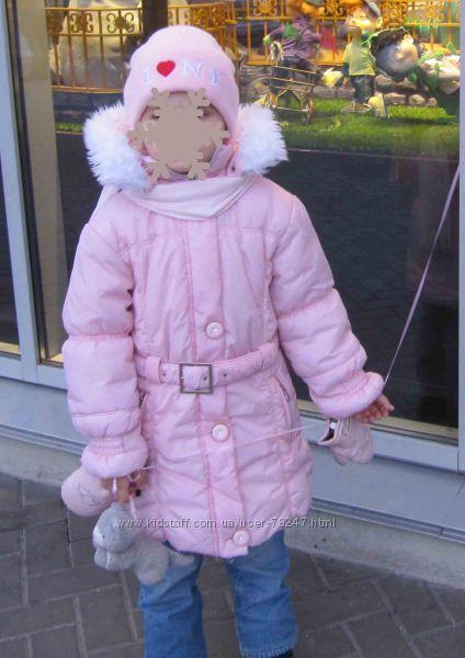 Пальто розовое Redaction girl