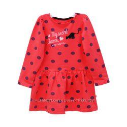 92-110 Платье трикотажное Кошка двунитка  TM Minikin