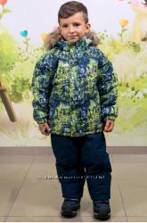 104-128  Зимний термокомбинезон комплект  для мальчика Joiks