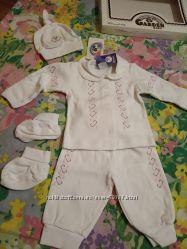 Новый набор для крещения с вышивкой Garden baby.