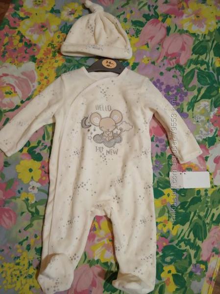 Новый костюмчик для ангелочка 3-6 мес. тм Early days.