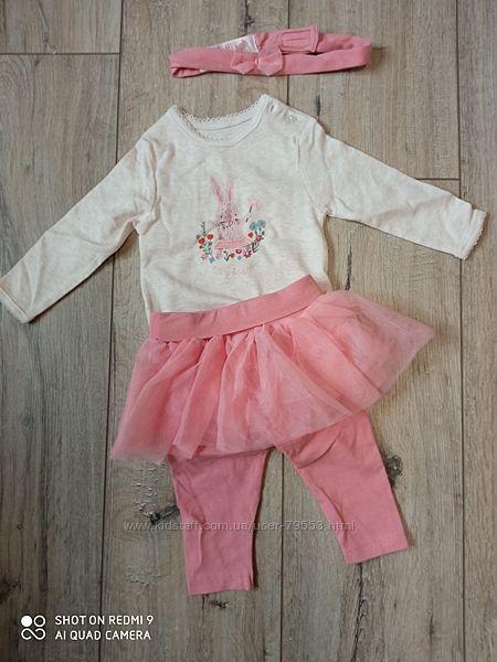 Комплект костюм для принцессы Primark на 3-6 мес.
