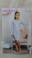 Тёплая ночная сорочка Vienetta Secret от 9 до 16 лет байка