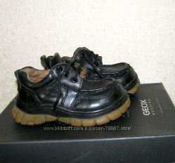 кожаные ботинки с супинаторами р. 23
