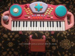 Пианино синтезатор с микрофоном ELC Mothercare