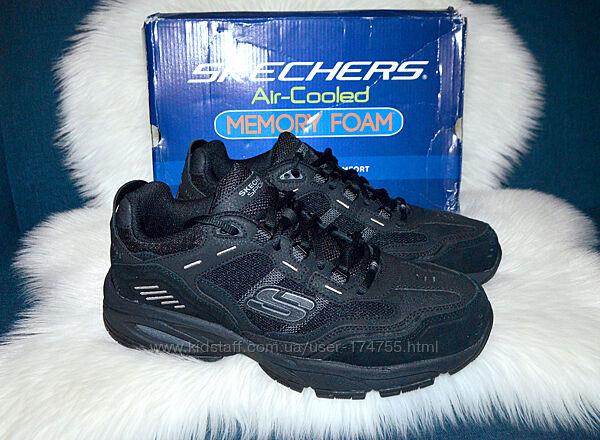 Кожаные кроссовки ботинки Skechers Vigor 46 размер Доставка