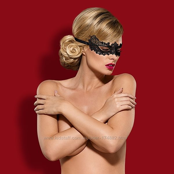 Карнавальные кружевные цветные маски