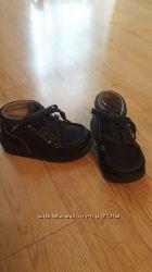 Детские кожаные демисизонные ботиночки Naturino бу