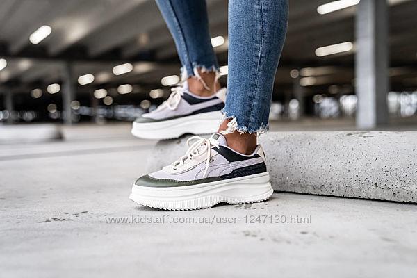 Замшевые кроссовки бренд Puma размер 8,5