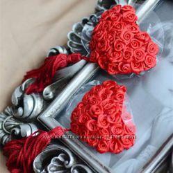 Наклейки на грудь Розы  Эротическое белье  Сексуальное белье